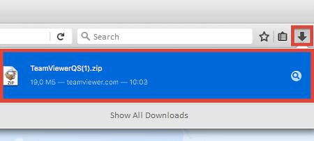TeamViewer QuickSupport Mac